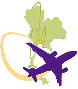 タイ国際航空ならバンコク立ち寄りのアレンジ料無料