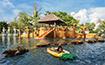 Jマイカオビーチの景観