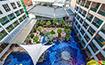 ザ・キー リゾート&スパ高層階からの展望