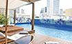 ル・メリディアン・バンコクのプールを望む