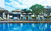 ル・メリディアン・バンコクのプールを正面から