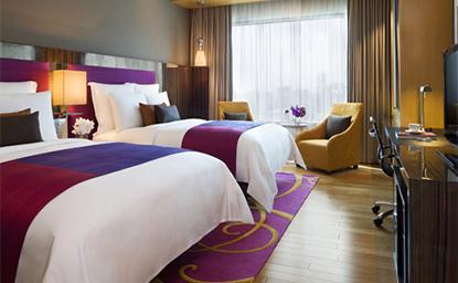 ルネッサンス・バンコク・ラチャプラソーン・ホテルのデラックスルーム