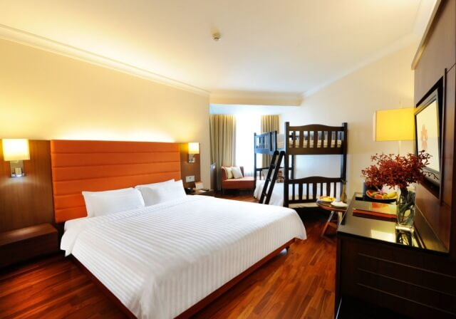 レンブラント・ホテル・バンコクのデラックスルーム 室内