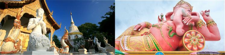 チェンマイ+バンコク 秋の2都市周遊